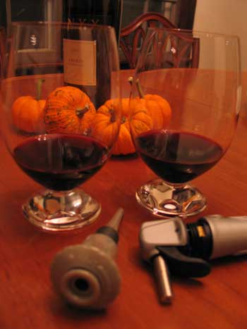 The weekend of wine tasting and testing