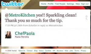 Twitter _ Paola Petrella_ @MetroKitchen yes!! Sparkl ... - (Build 20090824085414)