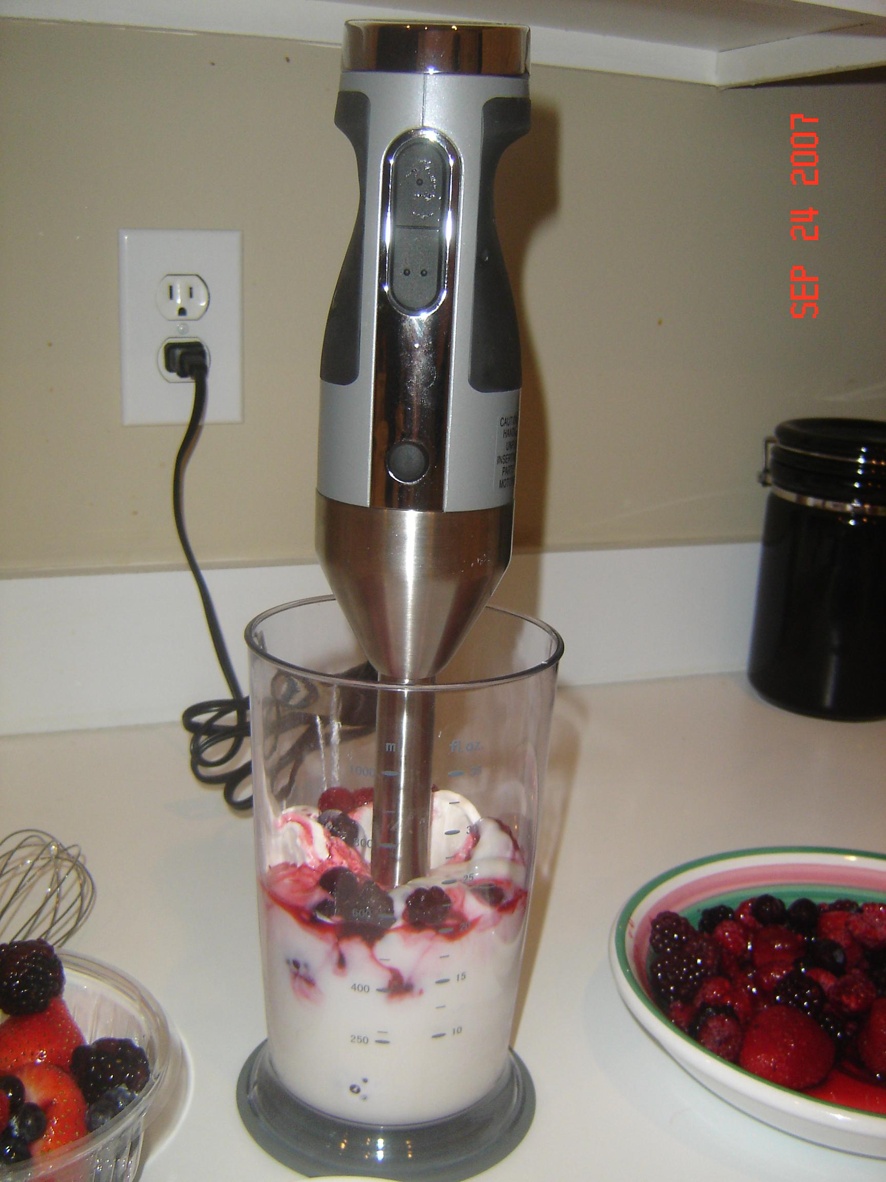 Happy Blending with the Viking Hand Blender
