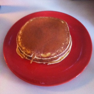 Staub Cast Iron Skillets and George's Perfectly Easy Pancake Recipe
